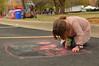Paying attention to the details (radargeek) Tags: montmartrechalkartfestival oklahoma chickasha usao universityofscienceandartsofoklahoma festival chalk art kid child children 2018 april