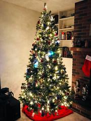 Xmas Tree 2017 2 (daryl_mitchell) Tags: winter 2017 saskatoon saskatchewan canada xmas tree home