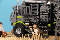 Zombie truck 12 (skbor74) Tags: lego legomaster zombie zombieattack zombies survival apocalypse truck base