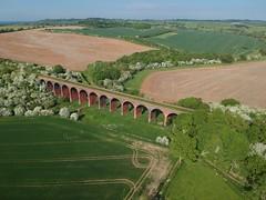 John O Gaunt (Sam Tait) Tags: dji spark drone uav ariel railway derelict abandoned disused viaduct bridge brick john o gaunt leicestershire