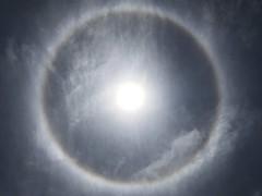 HALO (akiakinatsushun) Tags: halo rainbow 彩雲 虹 湘南 shonan sun 太陽 空 暈 暈輪 気象現象 weather
