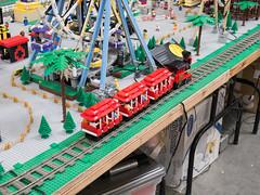 BayLUG Maker Faire 2018 005 (Bill Ward's Brickpile) Tags: lego baylug makerfaire bayltc makerfaire2018 maker make layout legotrains