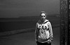 NightWalk (magat129245) Tags: leicapolskafilm nikon f80 n80 kodak tmax tmaxp3200 tanger morocco ilfosol 3 ilfosol3 portrait agata night sea grain 35mm blackandwhite bw analog