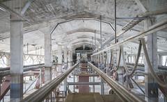 Transportation (AnotherStepAway) Tags: urbex urban exploring exploration explore ue abandoned forgotten factory dust pigeon dark industry industrial adventure urbanexploring decay decayed