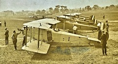Six new airplanes built by Standard Aircraft Co. exclusively for the Post Office Aug. 1918 NARA165-WW-556D-002 (SSAVE over 10 MILLION views THX) Tags: usps unitedstatespostalservice airmail 1918 airplane aircraft armyaircorps