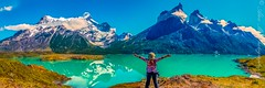 She is right!  This is an awesome panorama! (The Happy Traveller) Tags: estanciapudeto regióndemagallanesydelaan chile regióndemagallanesydelaantárticachilena cl torresdelpaine patagonia