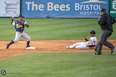 BeesvsRevs-40 (doublegsportsimages) Tags: newbritainbees york revolution baseball