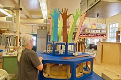 Creating the Art Float - Tam Makers - May 2018 - Photo - 2