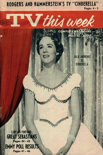 Julie Andrews, TV This Week Magazine Cover for Rodgers & Hammerstein's