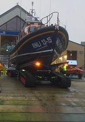 13-15 on the slipway (phil da greek) Tags: scarborough northyorkshire uk southbay rnli lifeboat shannonclass