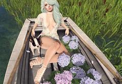 The Scent Of Flowers (Cryssie Carver) Tags: second life secondlife sl avatar collabor88 romp whimsical reign cae izzies alaskametro tukinowaguma league suicidalunborn suicidal unborn catwa maitreya lepoppycock le poppycock lostunicorn lost unicorn