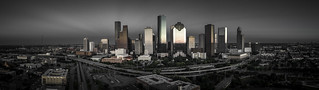 Downtown Houston Skyline - Memorial Silver Triangle No. 1