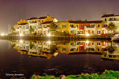 Centerparcs Port Zélande by night 2018 (Fabrice H. - Photography) Tags: portzelande ouddorp zeeland centerparcs scenery beautiful 2018 canon canon7dmk2 canon7dmkii art water reflection relax waterreflection port haven fabrice henneghien explore inexplore life popular flickr fabke people canon7d photography belgian view