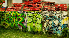 Graff Bordeaux 05 (Cyril Ribault) Tags: 33 bordeaux gironde aquitaine france pentax kr vivitar series 1 28105 graf graff graffiti street art rue streetart