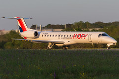 HOP / ERJ145 / F-GRGH / LFRS 21 (_Wouter Cooremans) Tags: nte nantes spotting atlantique spotter avgeek aviation airplanespotting hop erj145 fgrgh lfrs 21