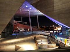 Cidade das Artes (Márcio Vinícius Pinheiro) Tags: riodejaneiro rj arquitetura architecture engenharia egenhariacivil engeneering concreto concretoaparente concretefacade concrete vãolivre clearance cidadedasartes ilumunação lighting