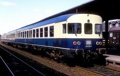 634 610  Goslar  24.04.88 (w. + h. brutzer) Tags: goslar eisenbahn eisenbahnen train trains deutschland germany railway triebwagen triebzug triebzüge zug db 624 634 vt webru analog nikon