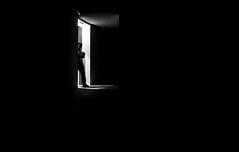 darkroom (ThorstenKoch) Tags: street streetphotography schatten stadt strasse shadow schwarzweiss silhouette licht lights linien lines light indoor outdoor blackwhite bnw monochrome man fuji fujifilm düsseldorf duesseldorf door