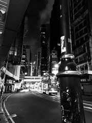 Quiet Night #3 - Central, Hong Kong (中環, 香港) (dlau Photography) Tags: quiet night central 中環 香港 hongkong 中环 travel tourist vacation visitor people lifestyle life style sightseeing 游览 遊覽 trip 旅遊 旅游 local 当地 當地 city 城市 urban tour scenery 风景 風景 weather 天氣 天气 monochrome 單色 单色 black white blackandwhite 黑白 黑 白 astoundingimage