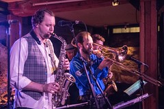 20180107_0090_1 (Bruce McPherson) Tags: brucemcphersonphotography theelectricmonks timsars emilychambers brendankrieg guiltco livemusic jazzmusic livejazzmusic saxophone trombone guitar electricguitar electricbass bass drums jazzdrummer lowlight lowlightphotography concert gastown vancouver bc canada