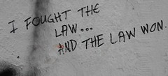 """I fought the law and the law won"" Singapore, The Substation, 2018"