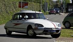 Citroën DS 21 IE Pallas 1971 (XBXG) Tags: 8627zm citroën ds 21 ie pallas 1971 citroënds déesse snoek strijkijzer tiburón white blanc citromobile 2018 citro mobile expo haarlemmermeer stelling vijfhuizen carshow vintage old classic french car auto automobile voiture ancienne française vehicle outdoor