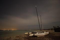 Illetes night (rubenzmata) Tags: balears night beach playa formentera illetes