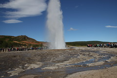 20170817-134631LC (Luc Coekaerts from Tessenderlo) Tags: geysir iceland isl suðurland haukadalur geiser geyser strokkur splitdef171328geysir people public tourist cc0 creativecommons 20170817134631lc coeluc vak201708iceland