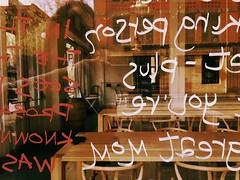 reverse scribble (Chris Blakeley) Tags: seattle hipstamatic writing window reversed