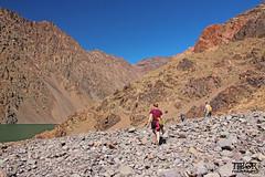 Atlastrekking (morbidtibor) Tags: africa northafrica morocco desert atlas atlasmountains toubkal trekking hiking lake lac ifni lacdifni