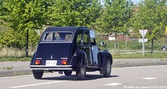 Citroën 2CV - from Maryland (USA) (XBXG) Tags: 6961z4 citroën 2cv club citroën2cv 2cv6 2pk eend geit deuche deudeuche black noire maryland usa us citromobile 2018 citro mobile expo haarlemmermeer vijfhuizen carshow vintage old classic french car auto automobile voiture ancienne française vehicle outdoor