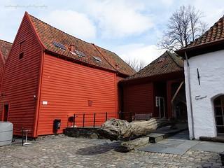 Bergen old town.