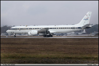 DC8 72 NASA N817NA 46082 Ramstein février 2018