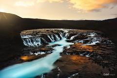 Bruarfoss (fusky) Tags: islandia iceland bruarfoss waterfall cascada fusky nightcolours water europe cpsespaña canon markiv