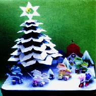Origami Christmas. Photo and Video Gallery