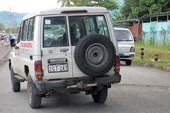 Ambulance-Nonga Hospital, Rabaul PNG (CooverInAus) Tags: rabaul enbp papua new guinea ambulance nonga general hospital toyota landcruiser