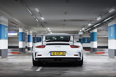 GT3RS. (Gal cho photography) Tags: porsche gt3 rs gt3rs israek rare 3 gt cool v8 v6 car cars supercars german beautiful best amazing garage gal cho chobotaro photograph photography photographer love wing white color special
