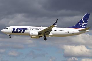 SP-LVA LOT Polish Airlines Boeing 737-8 MAX