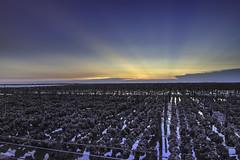 Oyster fields | 牡蠣田 (KentFan) Tags: fuxingtownship changhuacounty taiwan tw oyster 牡蠣 溼地 wetland 鹿港 彰化 蚵 肉粽角 夕陽 日照 藍天 風車 6d2
