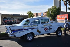 Show & Go Car Show for Charity 2018 (USautos98) Tags: 1957 chevrolet chevy 210 gasser hotrod streetrod custom nostalgiadragracing
