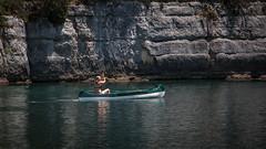Canoé dans les Les Basses gorges du Verdon (Alpes de haute Provence) - France (pascal548) Tags:
