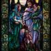Jesus and the Children, 1904, Arlington Street Church, Boston 5/11/18 #tiffanywindows #stainedglass