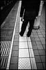 Kuramae Station, Metro, Tōkyō-to (GioMagPhotographer) Tags: tōkyōto platform metrostation metro eastofthesun peopledetail leicamonochrom japanproject japan subway tokyo tkyto underground