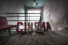 Saturday night fever (Mike Foo) Tags: cinema kino urbex fuji fujifilm xt2 abandoned abbandono rozklad hdr haunting lost secret decay derelict windows