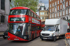 London General LT458 (cybertect) Tags: 11 carlzeisstessart45mmf28 fleetstreet lt458 ltz1458 london londongeneral londonwc2 londonbus newbusforlondon newroutemaster sonya7ii wc2 bus doubledecker route11
