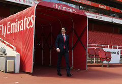 Arsenal Unveil New Head Coach Unai Emery (Stuart MacFarlane) Tags: sport soccer clubsoccer london england unitedkingdom gbr
