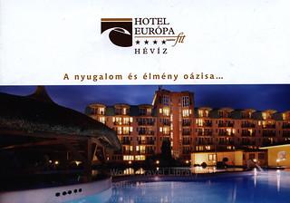 Hotel Európa Hévíz - A nyugalom és élmény oázisa…; 2017_1, Zala co., Hungary