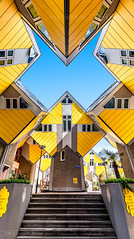 _MG_4008 - Epic Kubus houses by Piet Blom (AlexDROP) Tags: 2018 netherlands europe holland rotterdam art travel modern architecture color city wideangle urban canon6d ef16354lis best iconic famous mustsee picturesque postcard interior