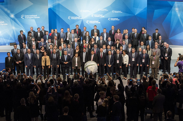 Transport Ministers' 2018 family photo