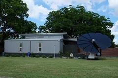 Solar Powered House (Gene Ellison) Tags: building house spiral solar panel grass